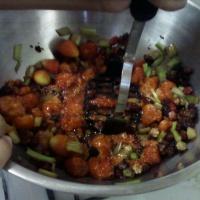 Mashing Berries for Jam!