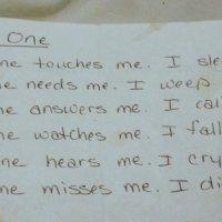 """""""No One"""" a Poem by Karen Joyce"""