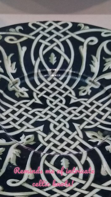 Reminds me of intricate celtic knots!