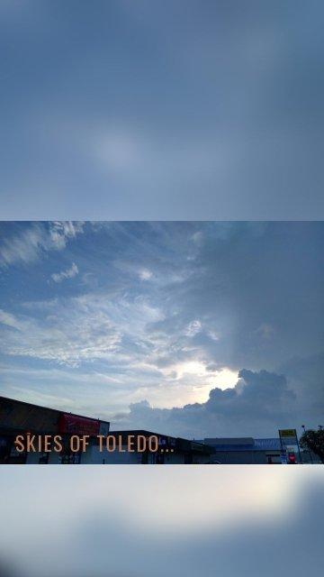 Skies of Toledo...